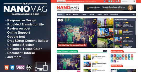 Template Wordpres Magazine Keren – NanoMag